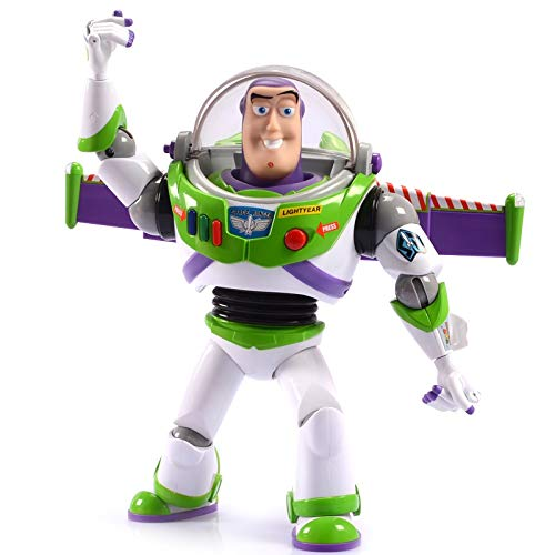 Qubei-dongman Pixar Toy Story Ultimative Walking Buzz Lightyear Action-Figur (Charaktere Aus Toy Story Kostüme)