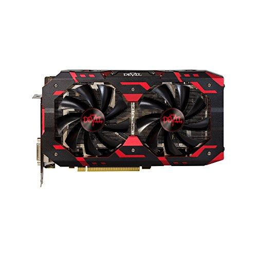 PowerColor AXRX580 8GBD5-3DHG/OC Scheda Grafica, Grigio