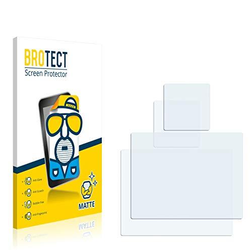 BROTECT Pellicola Protettiva Opaca per GoPro Hero4 Silver [2 Pezzi] - Anti-Riflesso