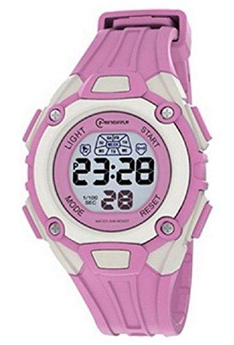 Reloj Mujer Cuarzo Digitale Azul Sport Chrono Alarma etanche