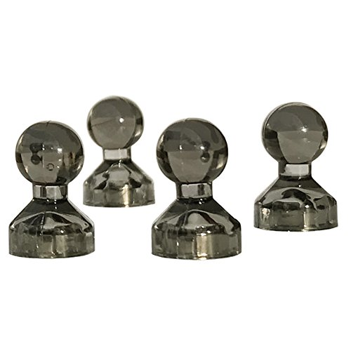 NEUE Kühle Farbe Cool Sonnenbrille Grau Magnete Kühlschrank - Neodym Kegelmagnete Zur Verwendung Als Magnetische Haken Oder Magnet Pins (30 Stuck) (Magnetische Kalender-halter)