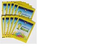 Offizielle Panini FIFA WM 2014 in Brasilien (Brasil) 10x Sticker Packs (insgesamt 50 Gelegentliche Aufkleber)