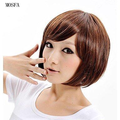 HJL-2015 femmes Ombre mode onduleux naturel chaleur janpanese r¨¦sistant perruque de cheveux synth¨¦tiques XY015 12 \\