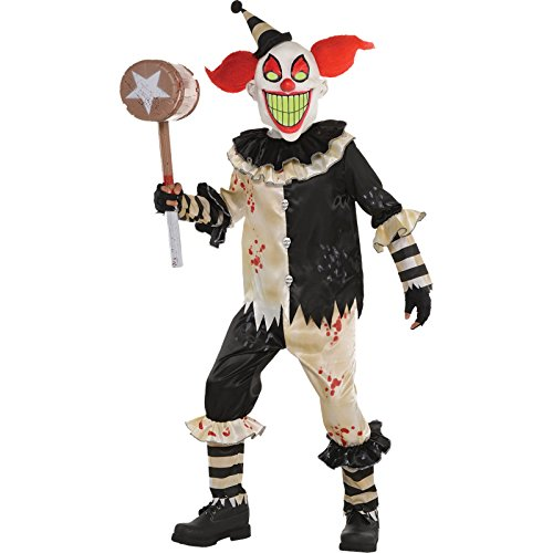 Amscan Zirkusalptraum - Halloween Horror Clown Kostüm Kinder Jungen