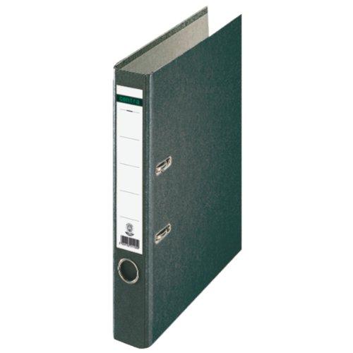 Preisvergleich Produktbild Centra 221105 Standard-Ordner (grauappe RC, mit Wolkenmarmor-Papier-Kaschierung, A4, 5,2 cm Rückenbreite) schwarz