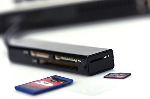 Assmann Ednet 85241 USB 2.0 Multi Kartenleser schwarz
