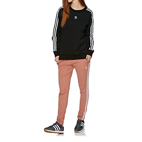 Adidas crew sweater–Pull, femme noir