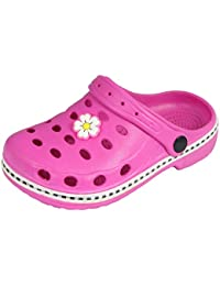 Sleedy® Kinder Clogs-Pantoletten Gr.18-35 Clogs EVA-Clog Unisex Kinder Hausschuhe