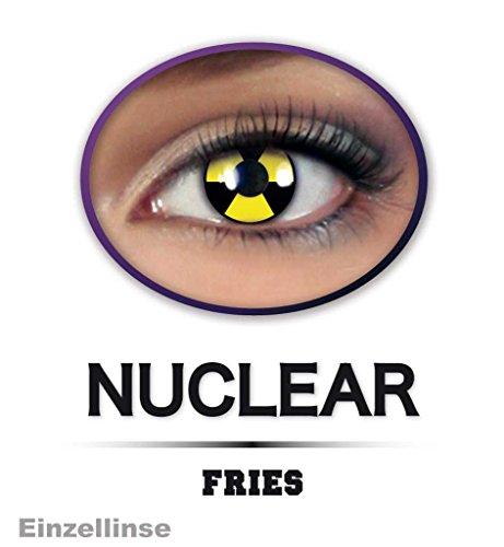 Fun Linse Halloween, Einzel Linse ATOM, weiche Kontaktlinse getönt *NEU bei Pibivibi