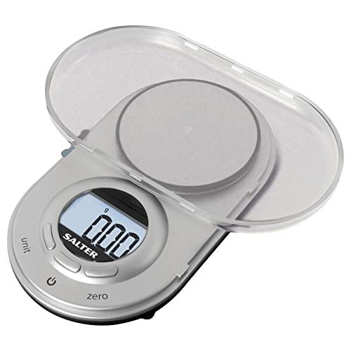 41fUZHnvSBL. SS500  - Salter Micro Digital Kitchen Scale - Electronic Micro Measuring Tool, Precision Baking/Cooking, Compact, Portable Design…