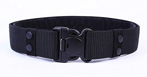 ALAIX Uomini 55MM nylon Tactical Belt regolabile Rescue Duty Nessun metallo