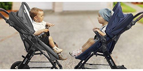 Kinderkraft Kinderwagen Kombikinderwagen 3 in 1 mit Buggy Babyschale grau
