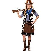Costume da Cowgirl dell ovest per bambina T-03 (10 12 anni e2ab8ed0e98a