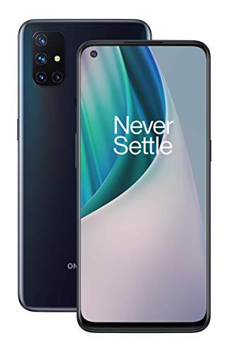 Oferta de OnePlus N10 Midnight Ice (Hielo de Medianoche) | Pantalla de 6.49 a 90Hz | 6GB de RAM + 128GB de Almacenamiento | Cámara cuádruple | Warp Charge 30T | Dual SIM | 5G