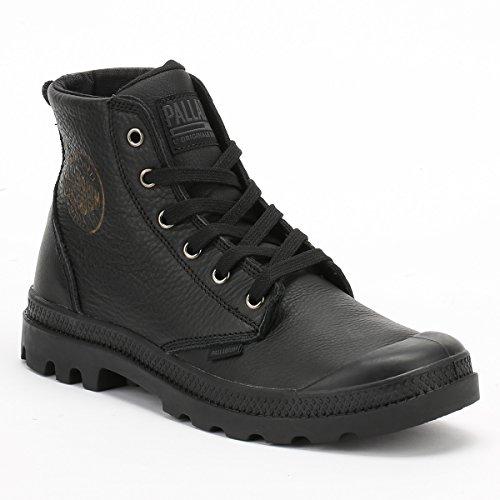 Palladium Pampa Hi Leat U, Sneaker a Collo Alto Unisex-Adulto Nero