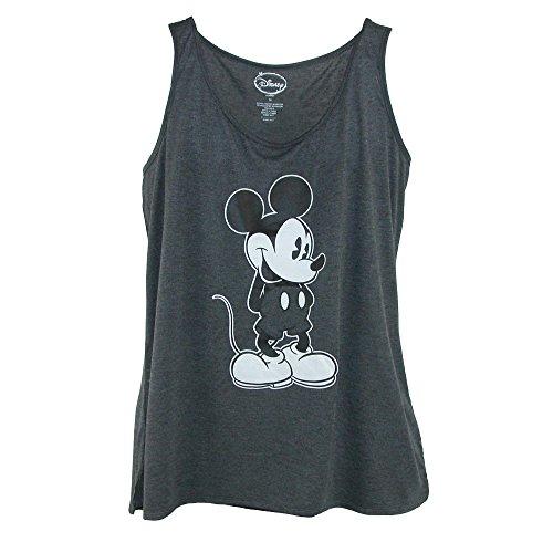 Disney Damen Tanktop Micky Maus Übergröße Gr. X-Large, grau -