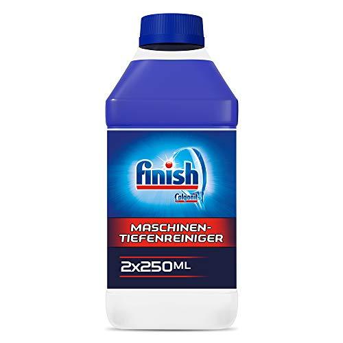 Finish Maschinentiefenreiniger, Spülmaschinenreiniger, Maschinenpfleger, Sparpack, 2er Pack (2 x 250 ml)