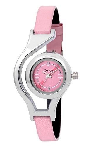 41fUd6 YONL - Carson Girls Pearl in the shell CR6010 watch