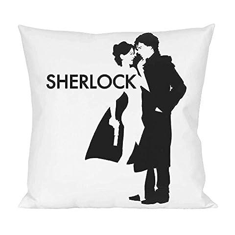 Sherlock holmes poster Pillow