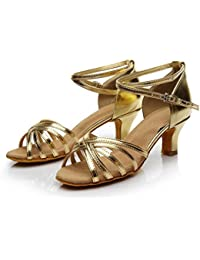 d120490211b7 Fashion Women Cross Strap Peep Toe Sandals Dancing Girls Rumba Waltz Prom  Ballroom Latin Salsa Dance