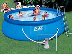 Kit piscine Intex EASY SET ronde 4.57m x 1.22m Intex 28168FR