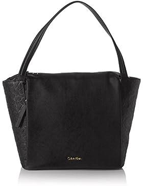 Calvin Klein Jeans MISH4 LARGE TOTE K60K602120 Damen Henkeltaschen 14x30x27 cm (B x H x T)