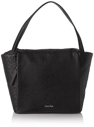 Calvin Klein MISH4 Large Tote, Sacchetto Donna, Nero (Black), 14x27x30 cm (b x h x t)