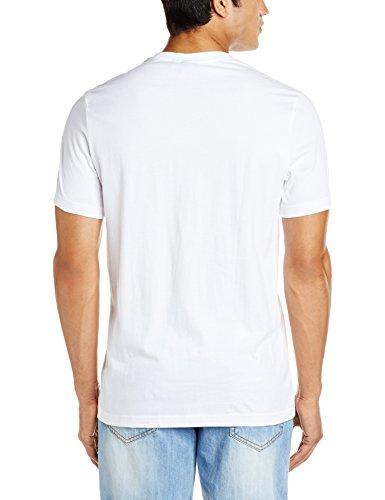 adidas Herren Vintage Trefoil T-Shirt White