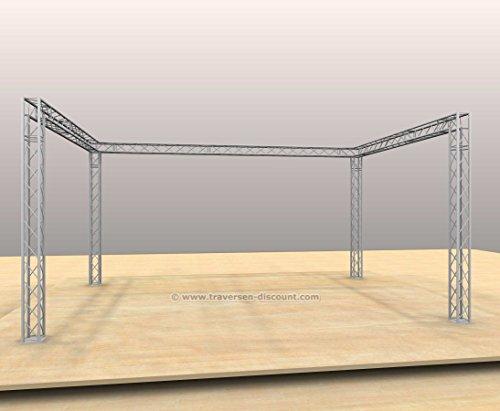 Messebau mit Deco Truss T220-4, U Form mit 6x4x3m - Messestände Stand für Messe Messe Stand für Gewerbeschau