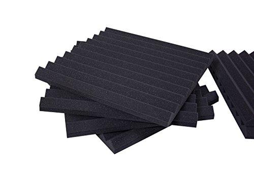 Pannelli Fonoassorbenti Monopiramide 50x50x4 D30 pacco da 20