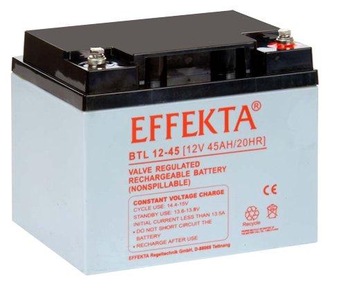EFFEKTA BTL 12-45 / 12V 45Ah AGM Blei Akku Batterie