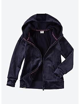 Bench Fleece Softe Jacke mit eingearbeitetem Bench-Schriftzug auf der Kapuze