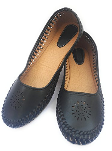Moonwalk Women Suede Belly Shoes