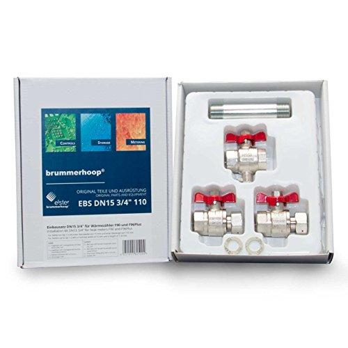 Preisvergleich Produktbild Einbausatz für Wärmezähler F90 und F96Plus 3/4 Zoll DN15 110mm