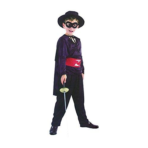 Junge Bandit Zorro verkleiden Kostüm (4 bis 6y.o). Kinder Kostüm (ZORRO)