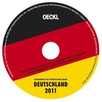 OECKL. Taschenbuch des Öffentlichen Lebens Deutschland 2011: CD-ROM