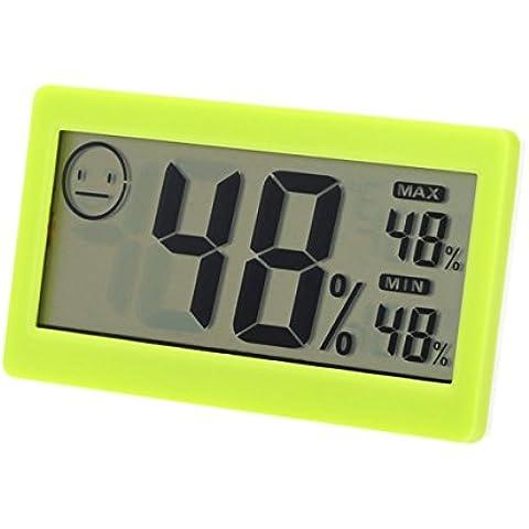 8,38 cm LCD Mini Digital termómetro inalámbrico en interiores higrómetro medidor de humedad temperatura termostato electrónico Tester