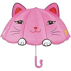 Kidorable Paraguas Gato Rosa Única