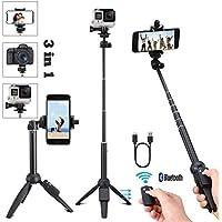 Handy stativ stativ für Smartphone iPhone Stativ Bluetooth Selfie Stick Stativ für iPhone Samsung und Kamera