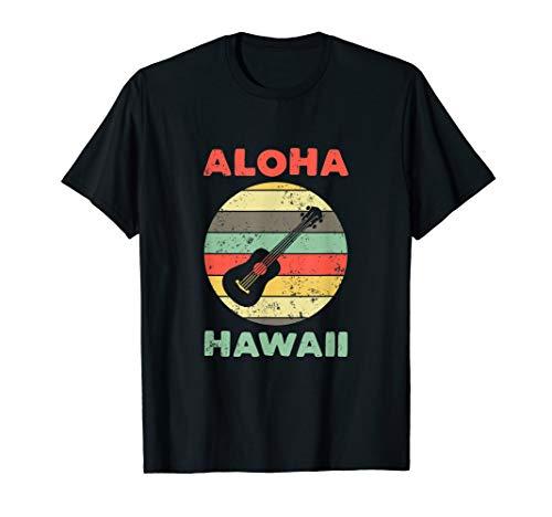 Aloha Beach Hawaii T-Shirts für Ukulele T-Shirt