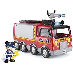 IMC Toys- Disney Mickey Mouse Camion de Pompiers, 181922, Taille Unique