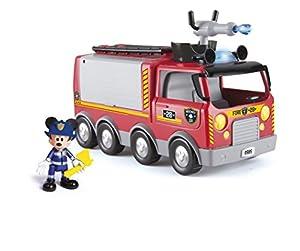 IMC Toys- Emergency Fire Truck Disney Camion de Bomberos ¡Al Rescate, Miscelanea (181922)