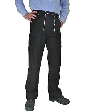 Lederprofi - Pantalón - recto - para hombre