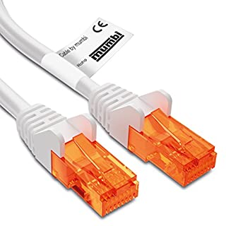 mumbi LAN Kabel CAT 5e Netzwerkkabel CAT5e Ethernet Kabel Patchkabel RJ45 20Meter,20.0m,weiß (B0038QAMJ2) | Amazon price tracker / tracking, Amazon price history charts, Amazon price watches, Amazon price drop alerts