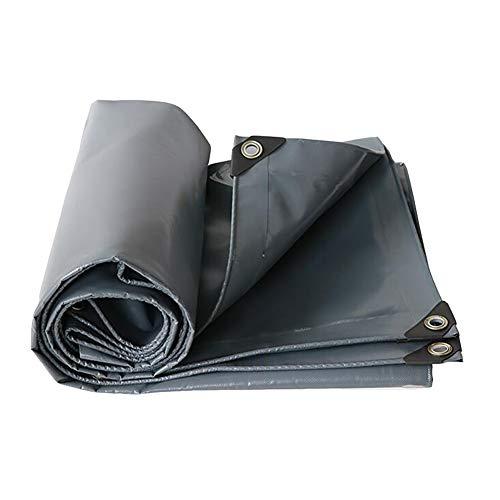 Dall bâche Imperméable Bâche Feuille De Sol des Couvertures Revêtement PVC Imperméable (Couleur : Gray, Taille : 3×5m)
