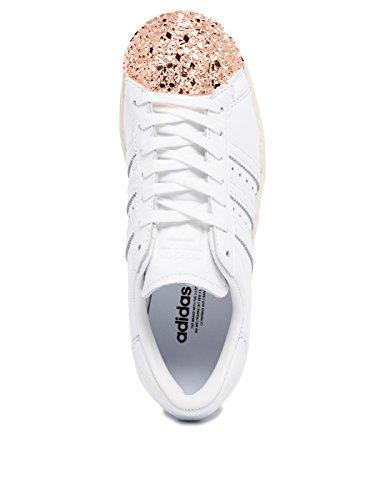 Adidas Superstar 80's 3d Metal Toe Damen Sneaker Weiß - 5