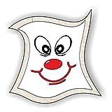 jeder-kann-basteln ♥ Sticker-Gesichter-Grinsen ♥ Kleiner Preis! Lustige Aufkleber (Augen, Nase, Mund) für Kinder (mittel)