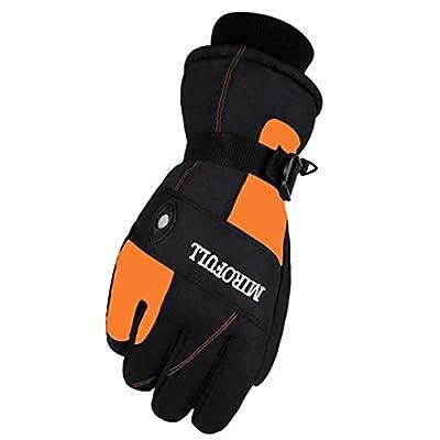 Warm Winddichte wasserdichte Ski-Handschuhe Ski-Ausrüstung Wintersport-Handschuhe für Männer, 02