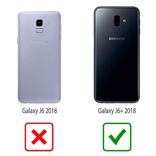 THEKLIPS® - Coque Galaxy J6 Plus - Johnny Hallyday