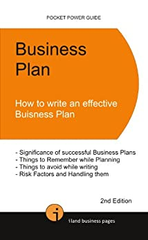 how to write effective business plan